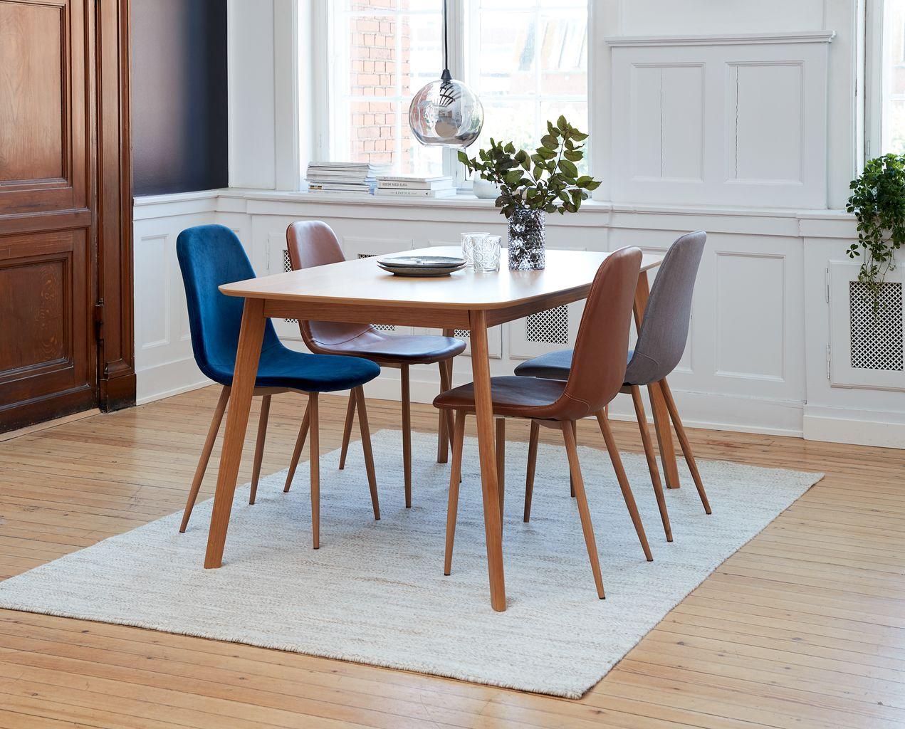 Krzesło biurowe JONSTRUP koniakchrom | JYSK