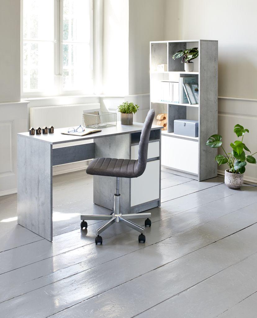 Skrivbord BILLUND 54x120 vitek | JYSK