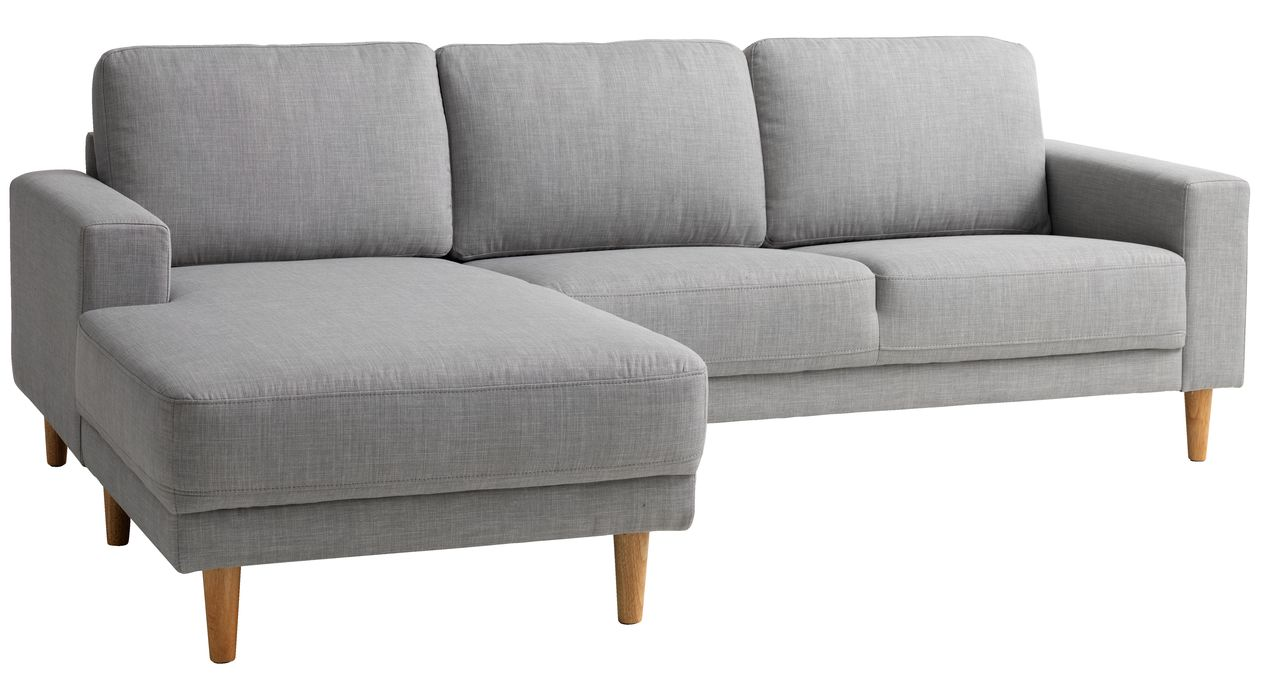 Sofa EGENSE chaiselong lysegrå | JYSK