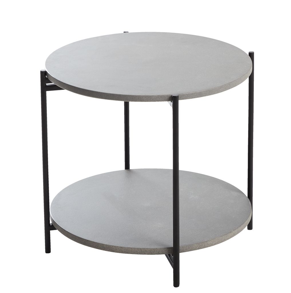 Side Table Jysk.Side Table Otta D50xh47 Grey Jysk