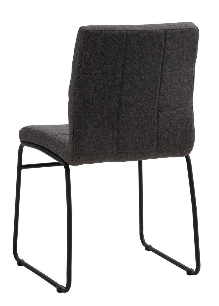Stol HAMMEL svartkrom | JYSK