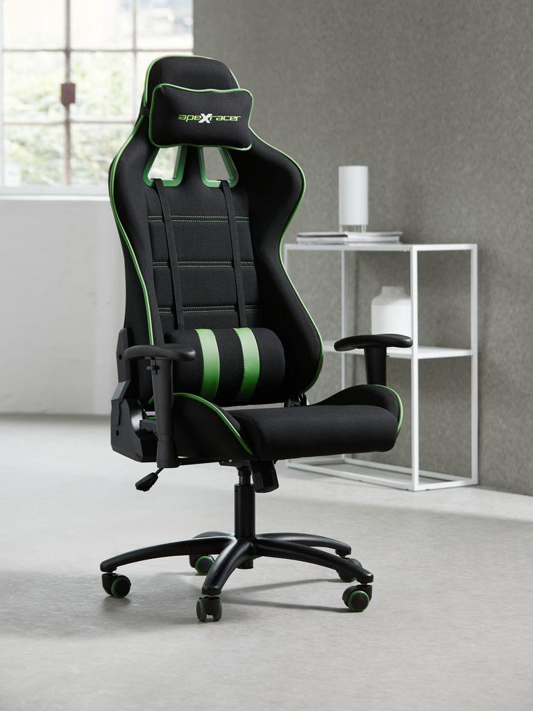 Gamingstol LAMDRUP svartgrön