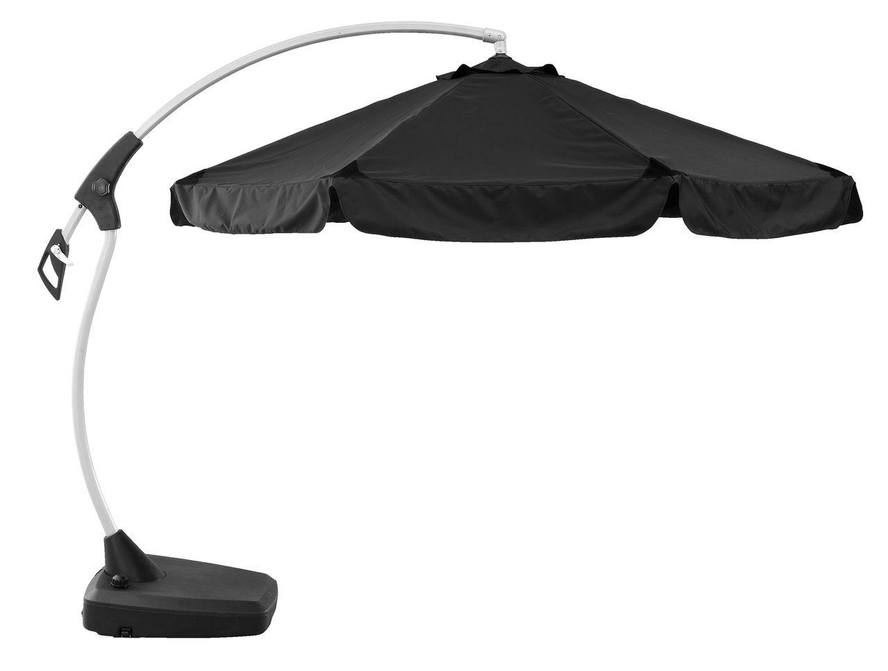 hængeparasol Hængeparasol HAUGESUND Ø300 sort | JYSK hængeparasol