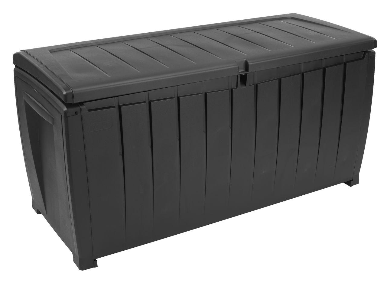 Dynbox ULLARED B124 u00d7H60 u00d7D55 svart JYSK