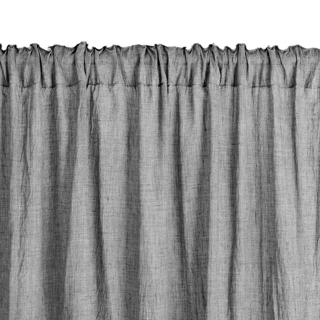 Gordijn HIRSHOLM 1x135x245 grijs | JYSK