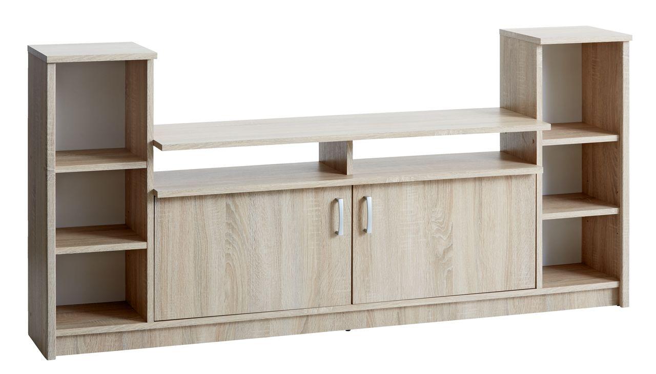 TV-asztal GENTOFTE 2 ajtós tölgy  JYSK