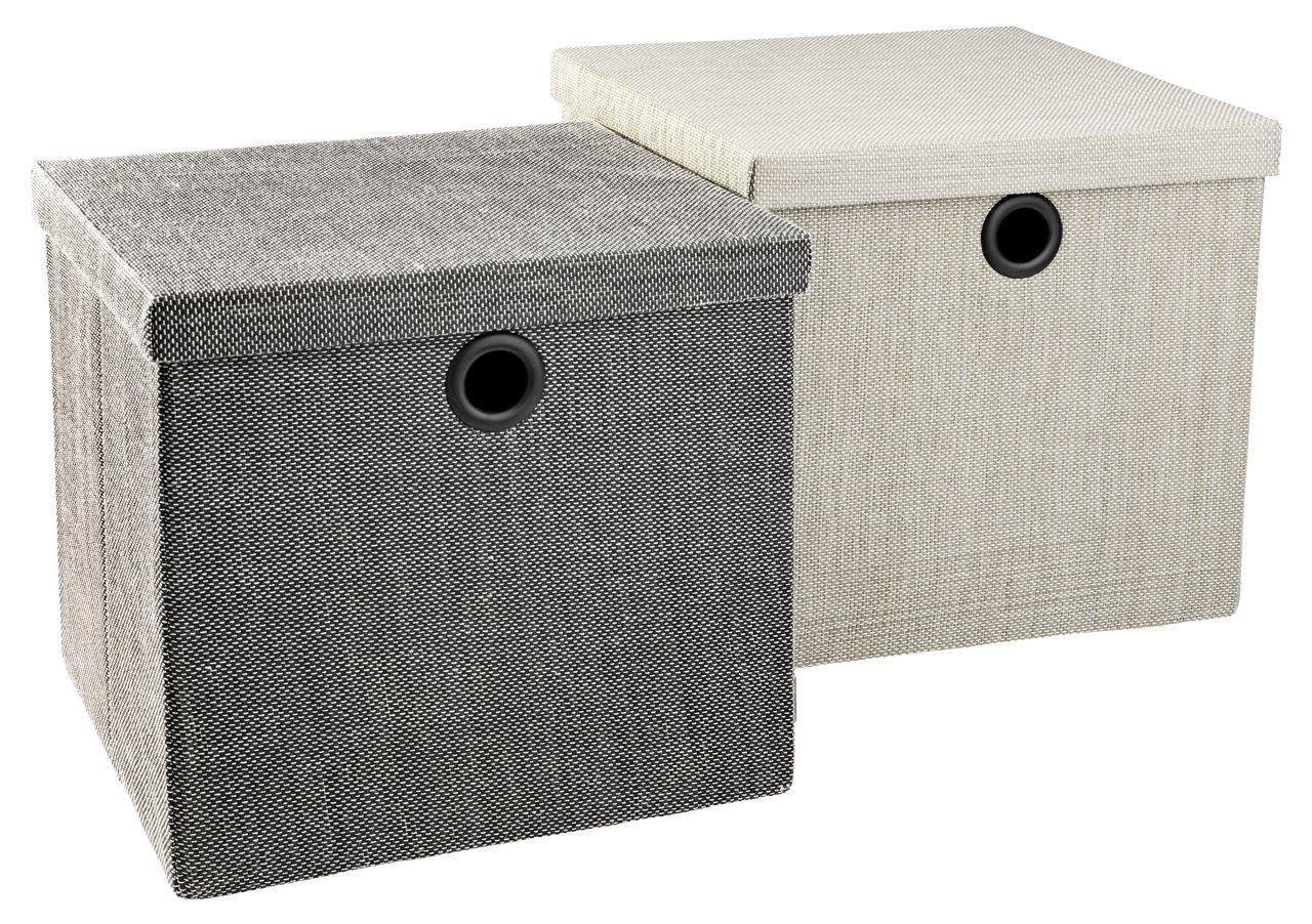 opbevaringsboks frilo b32xl30xh29cm ass jysk. Black Bedroom Furniture Sets. Home Design Ideas