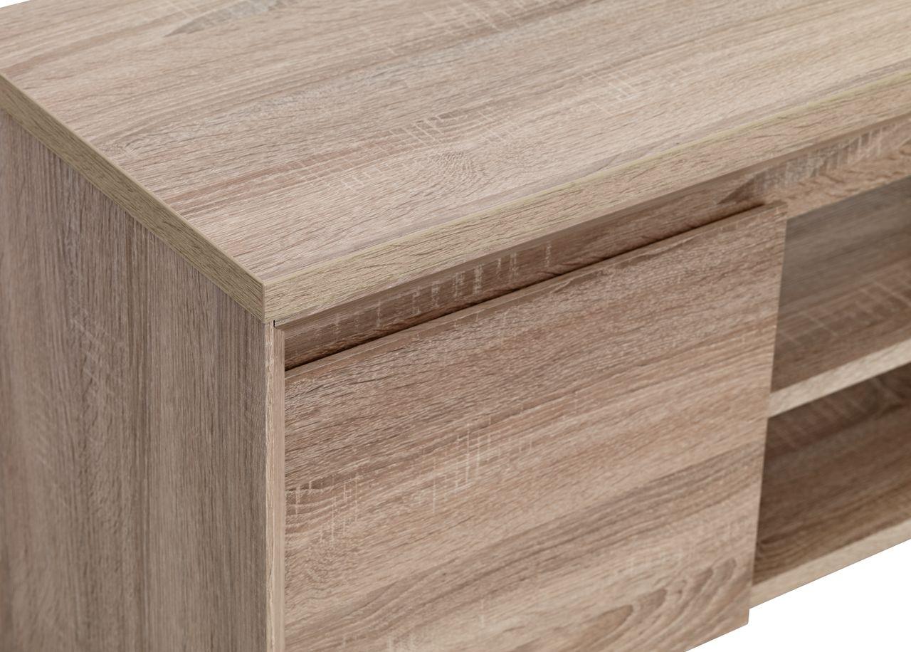 TV bord HALLUND 2 dører eik | JYSK