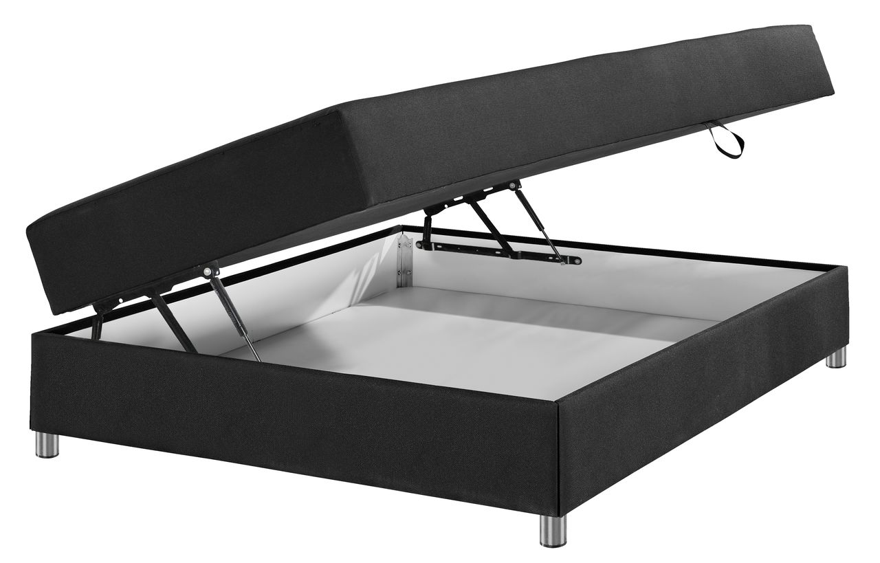 seng med opbevaring 120x200 cm Madras 140x200 PLUS B40 opbevaring | JYSK seng med opbevaring 120x200 cm