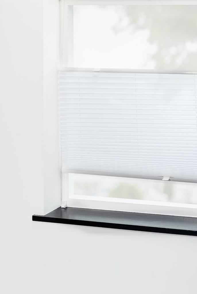 Tidsmæssigt Plisségardin LOVUND 75x130cm hvid | JYSK RP-33