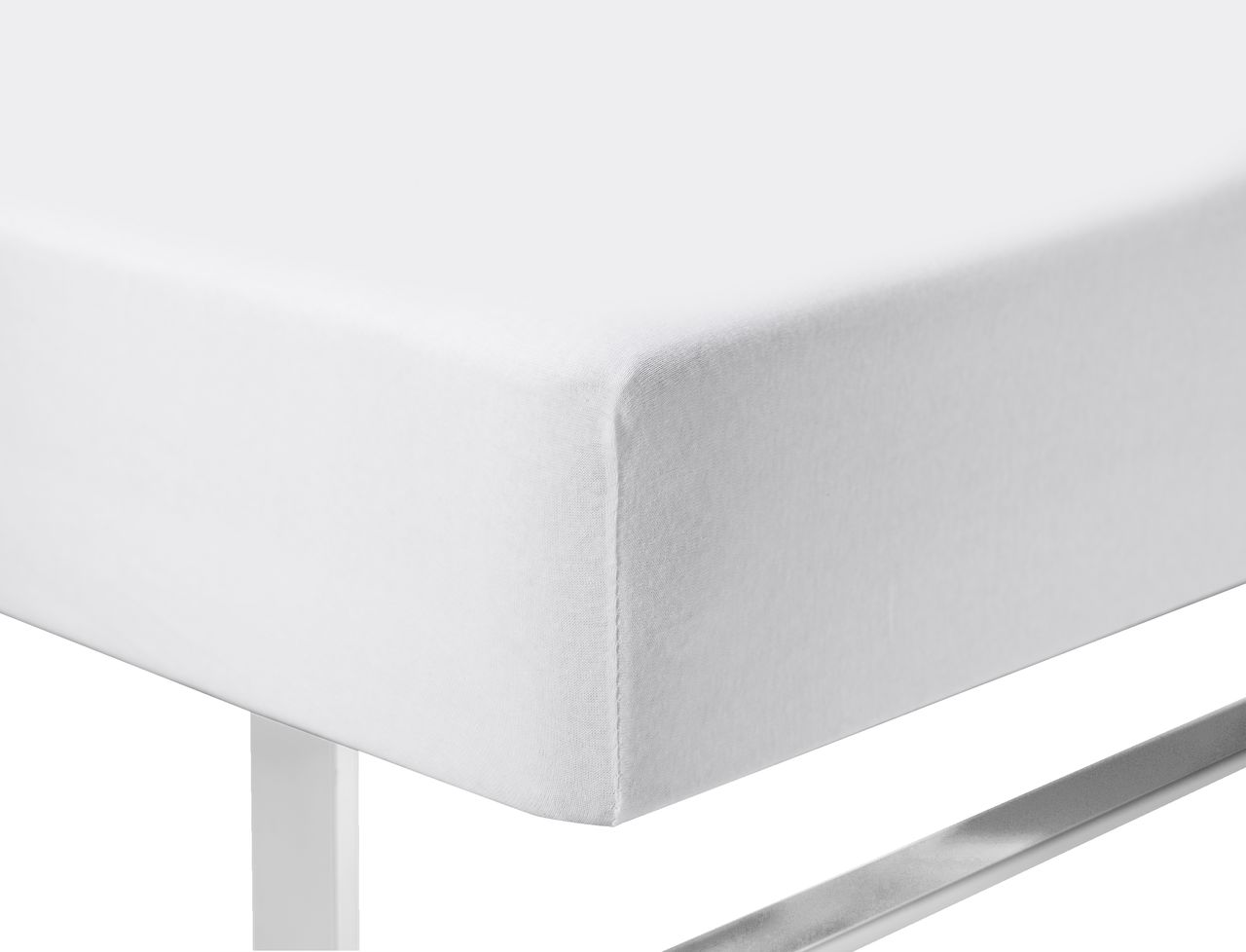 Efterstræbte Jerseylagen 180x200x40cm hvid | JYSK DG-39