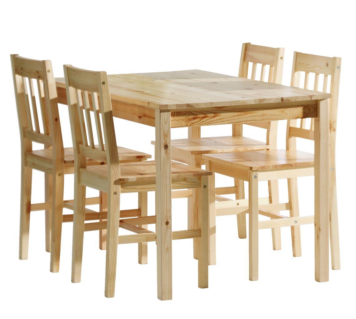 miza tylstrup 4 stoli tylstrup bor jysk. Black Bedroom Furniture Sets. Home Design Ideas