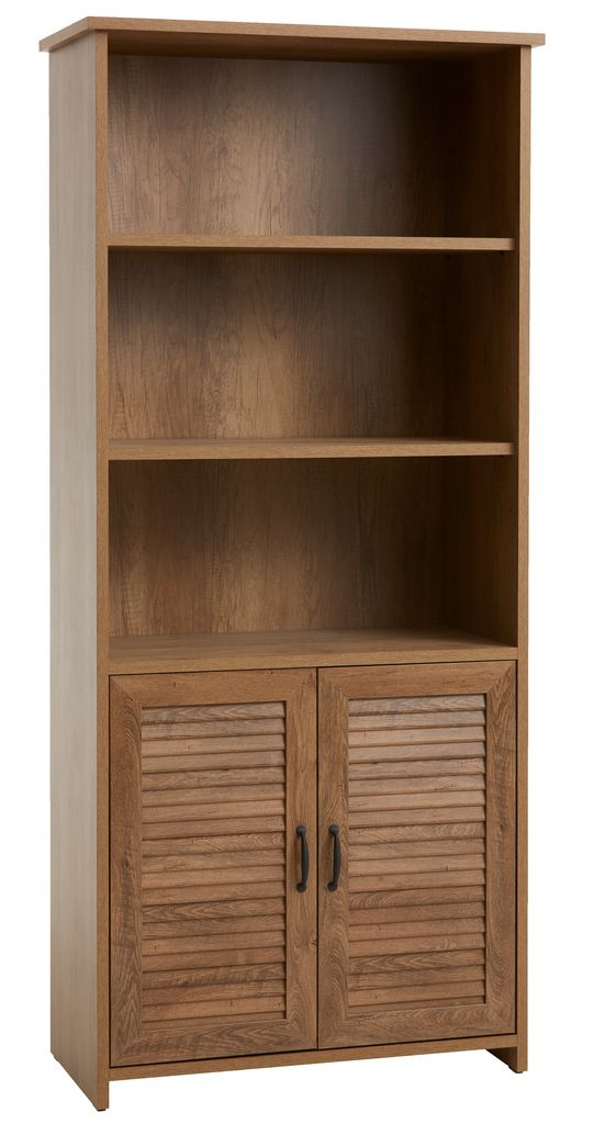 boekenkast manderup 2 deur 31 schap eik