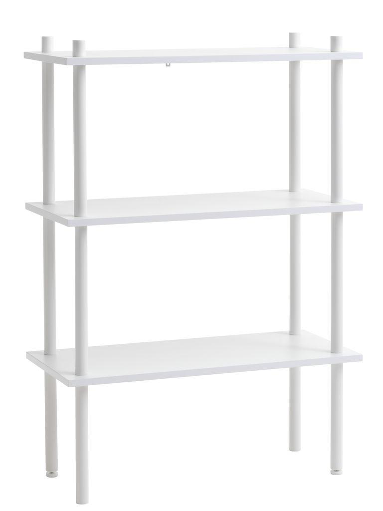 Moderne Reol TEGLUM 3 hylder hvid | JYSK CA67