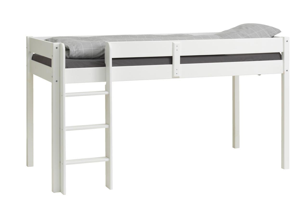 Udestående Halvhøj seng VESTERVIG 90x200 hvid | JYSK BD78