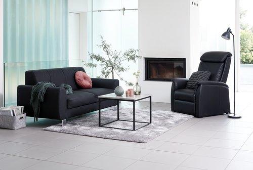 Πολυθρόνα μασάζ GJERDRUM μαύρο
