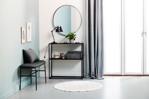Зеркало MARSTAL Ø70 см черный
