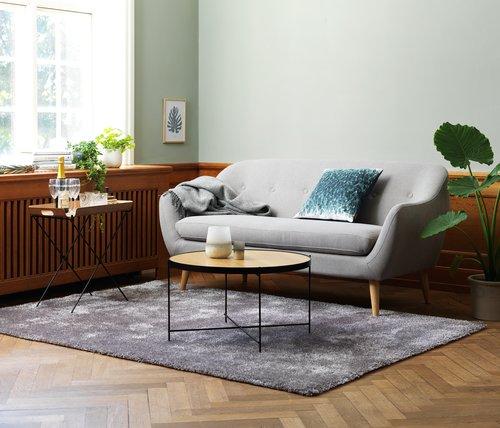 Canapea EGEDAL 2,5 locuri gri deschis