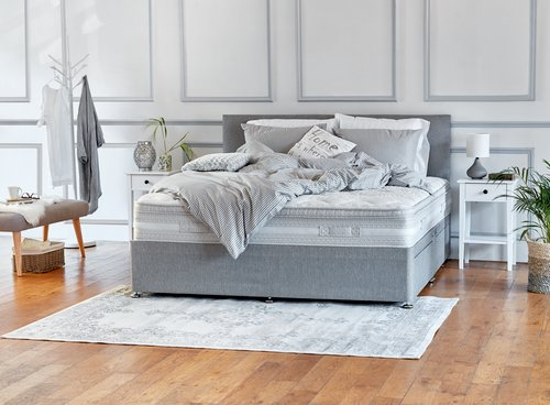 Headboard BASIC H5 DBL Grey-36