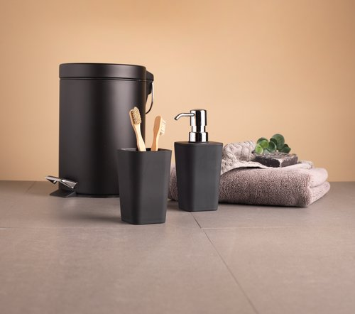 Pedal bin MALA 3L coated metal black
