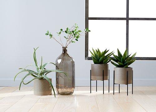 Artificial plant STEINAR D25xH30cm w/pot