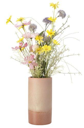 Kunstig blomst LINUS H60cm ass.
