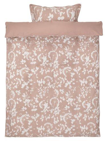 Ágyneműhuzat DAGMAR szatén rózsaszín
