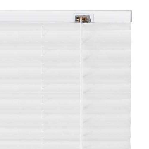 Plisségardin SALTHOLM 130x130 hvit