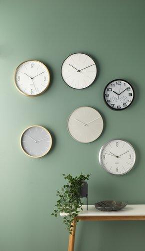 Wall clock ASHEIM D30cm ass.