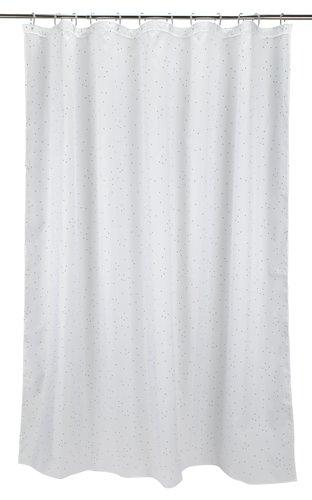 Cortina ducha HAGBY 180x200 blanco