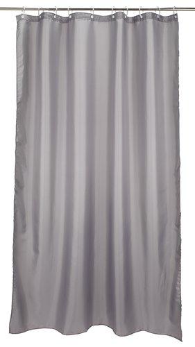 Shower curtain HAMMAR 180x230 grey