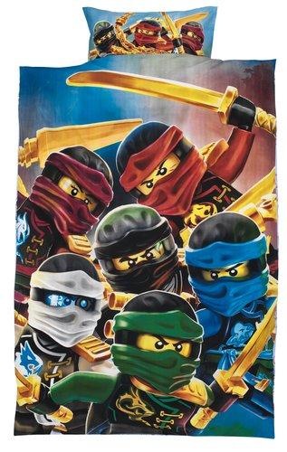 Lenjerie de pat LEGO NINJAGO 1 pers.