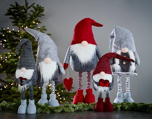 Christmas elf SAFIR H96cm ass.