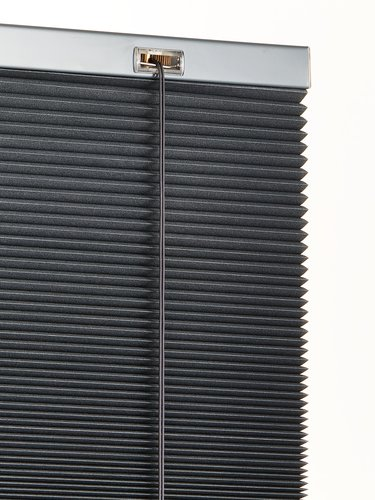 Plisségardin FUR 130x130cm mørklægning
