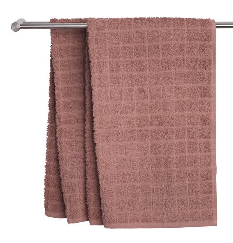 Hand towel KARBY 50x90 dusty rose