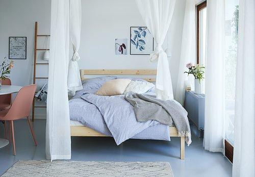 Спално бельо с чаршаф KAJSA SGL