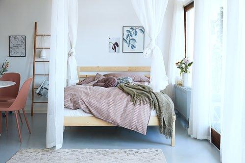 Lenjerie pat+cearsaf CHRISTEL dublă