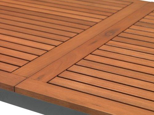 Stół YTTRUP S90xD150 drewno twarde