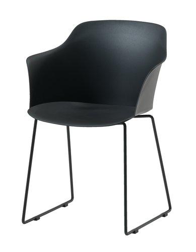 Stuhl SANDVED schwarz