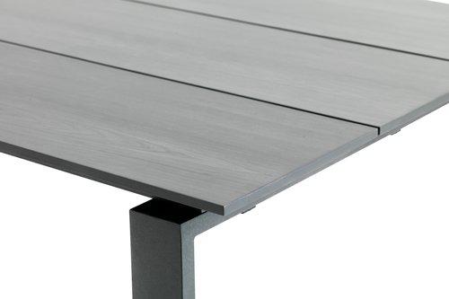 KOPERVIK L215 grå + 4 AIDT grå