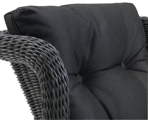 Лаунж крісло FALKENBERG сірий