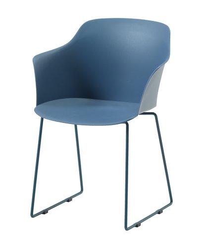 Židle SANDVED modrá