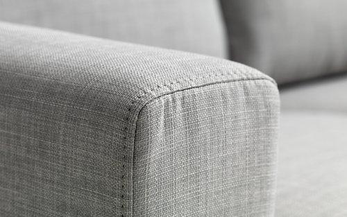 Soffa EGENSE 2-sits ljusgrå