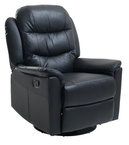 Регулируемо кресло HALSHUSE черно