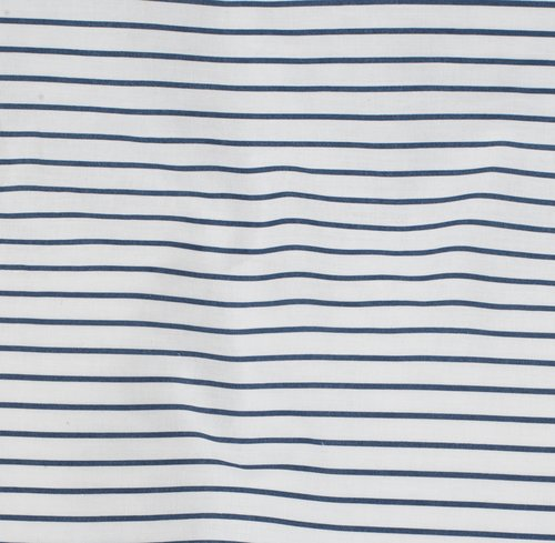 Ágyneműhuzat VIDA kék/fehér