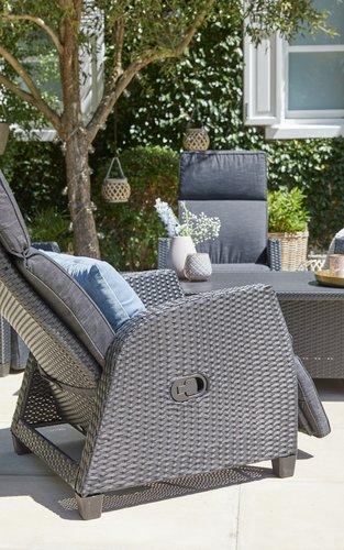 Regulerbar stol DOVRE svart