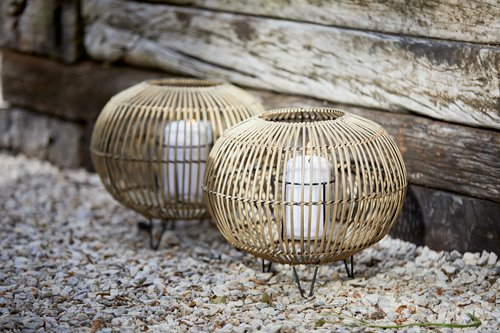 Fenjer EGEHJORT Ø32xV26 bambus
