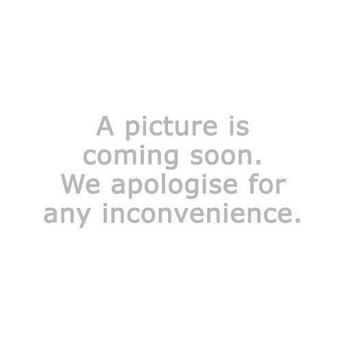 Pillar candle ARNT D7xH10cm grey w/LED