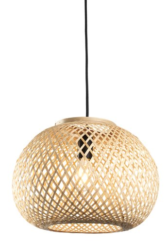Lampe susp. SIGVARD Ø35xH25cm bambou