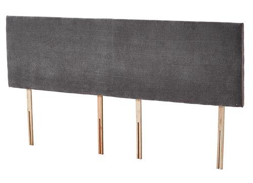 HB 180x50cm H10 PLAIN Grey-45